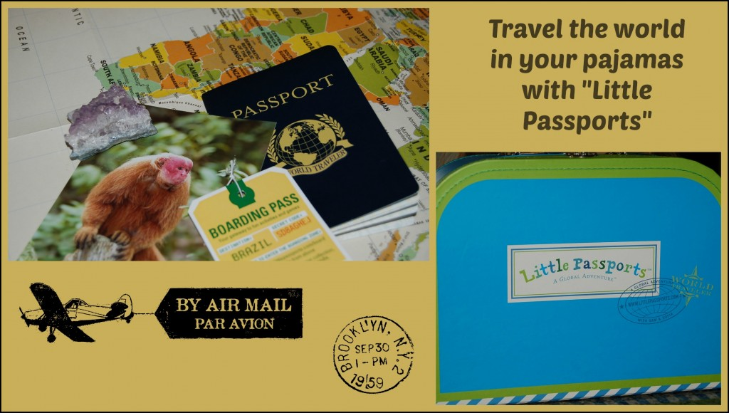 little passports collage
