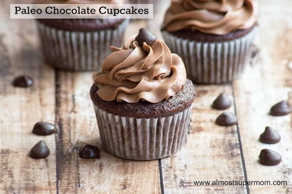 ... chocolate ganache frosting pin it paleo chocolate cupcakes flour to