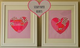 Scrap Paper Projects – Hearts