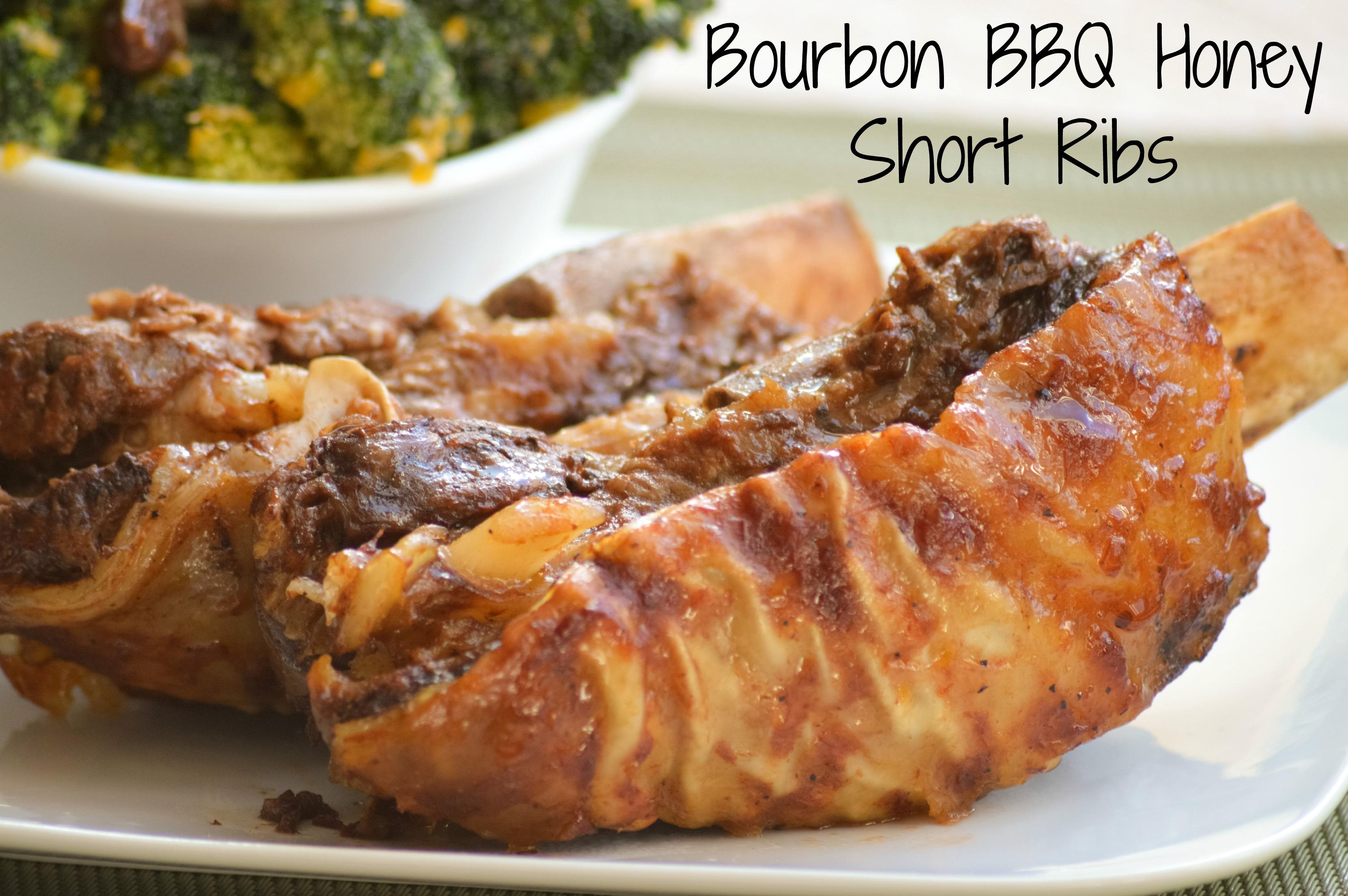 Bourbon Honey BBQ Short Ribs