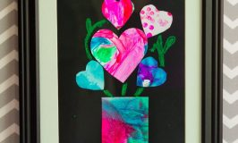 Valentine Hearts Art Project