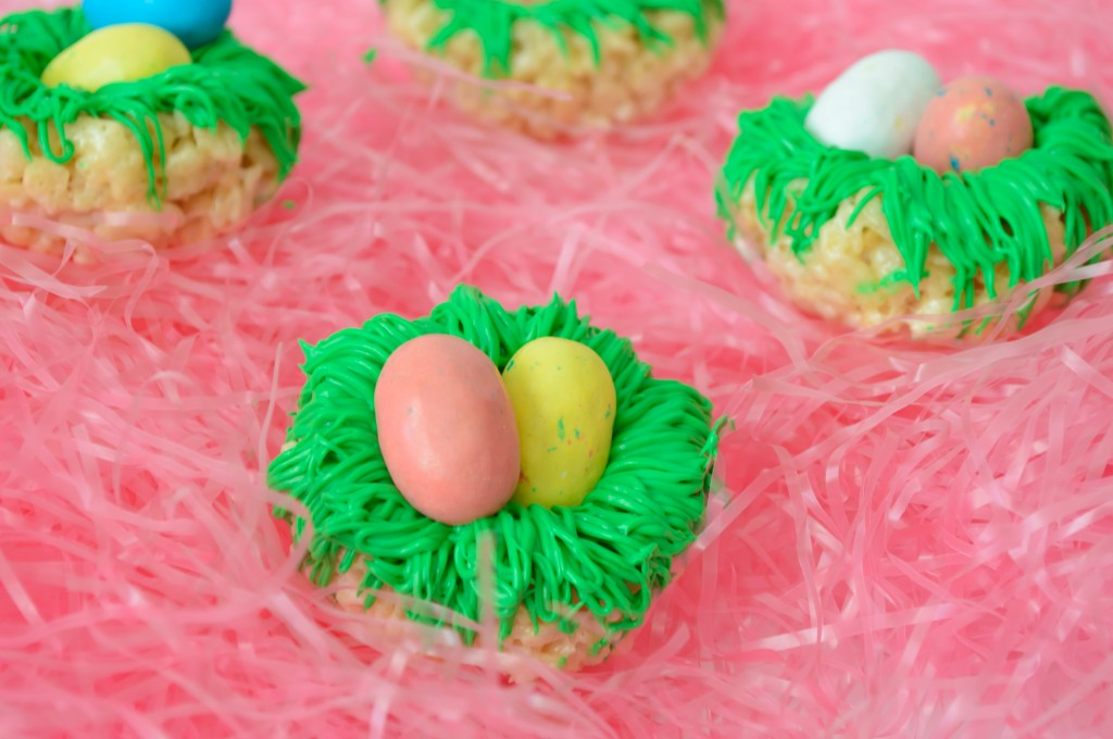 Rice Krispies Bird Nests - A fun Easter treat!