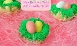 Rice Krispies Bird Nests – a Fun Easter Treat