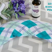 10 Minute Aromatherapy Pillow DIY + Relax with Dawn Destinations