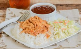 Crockpot Pulled BBQ Chicken