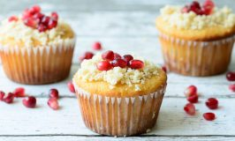 Gluten Free & Paleo Orange Pomegranate  Muffins