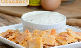 5 Alarm Cheddar Crackers