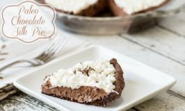 Paleo Chocolate Silk Pie