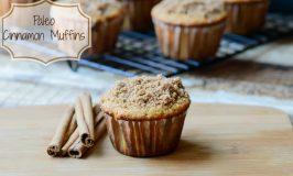 Paleo Cinnamon Muffins