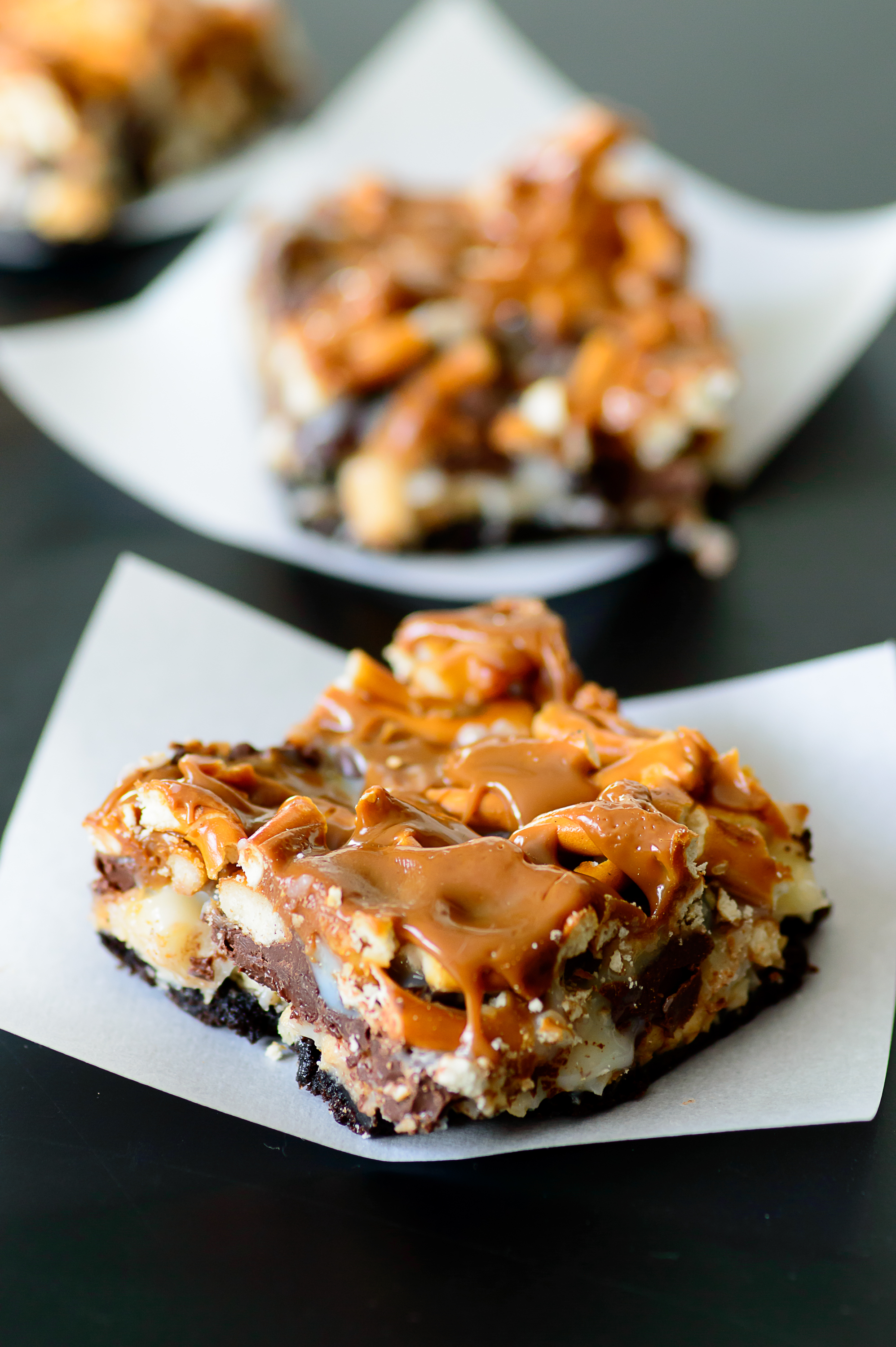 Almost Sausalito Cookie Bars Recipe — Dishmaps