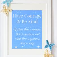 Cinderella Review plus Ella's Magical Wall Art Craft
