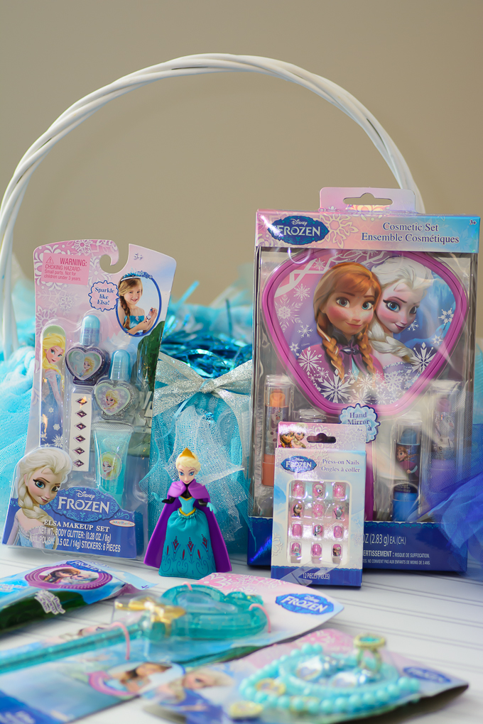 Frozen easter baskets almost supermom diy frozen easter baskets negle Image collections
