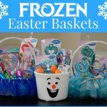 DIY Frozen Easter Baskets
