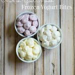 Melt in Your Mouth Frozen Yogurt Bites. Enjoy a nutritious snack with these ice cream flavored yogurt bites. Go ahead and eat dessert first, I won't tell.