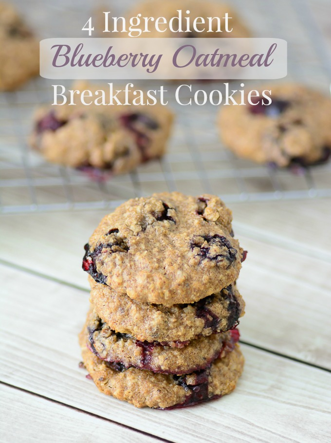Blueberry Oatmeal Breakfast Cookies. Start your morning off with a powerful combination of superfoods with this delicious breakfast recipe!