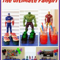 Marvel Avengers Party for the Ultimate Fangirl