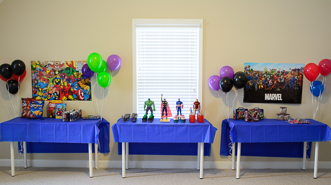 Avengers Themed Party