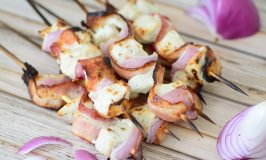 Bacon & Ranch Chicken Kabobs