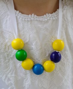 """Inside Out"" Gumball Memory Necklace Tutorial and Activity Sheets"