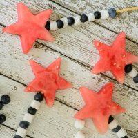 Star Spangled Fruit Skewers