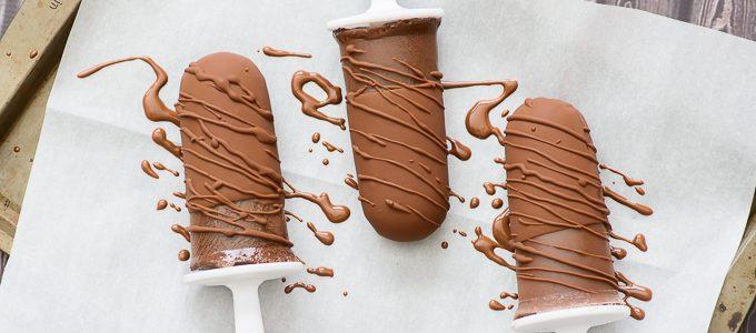 Double Chocolate Cashew Milk Popsicles