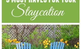 5 Must Haves for Your Staycation!