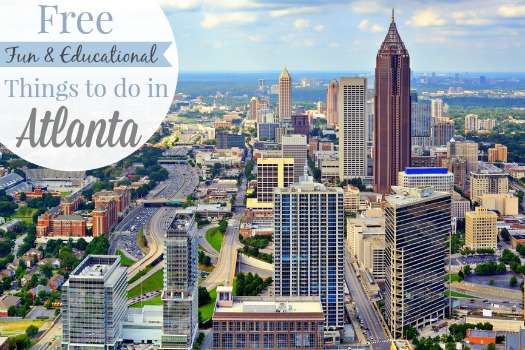 Free Fun & Educational Things to do in Atlanta, GA. You can have a great time and save money with these FREE educational attractions!