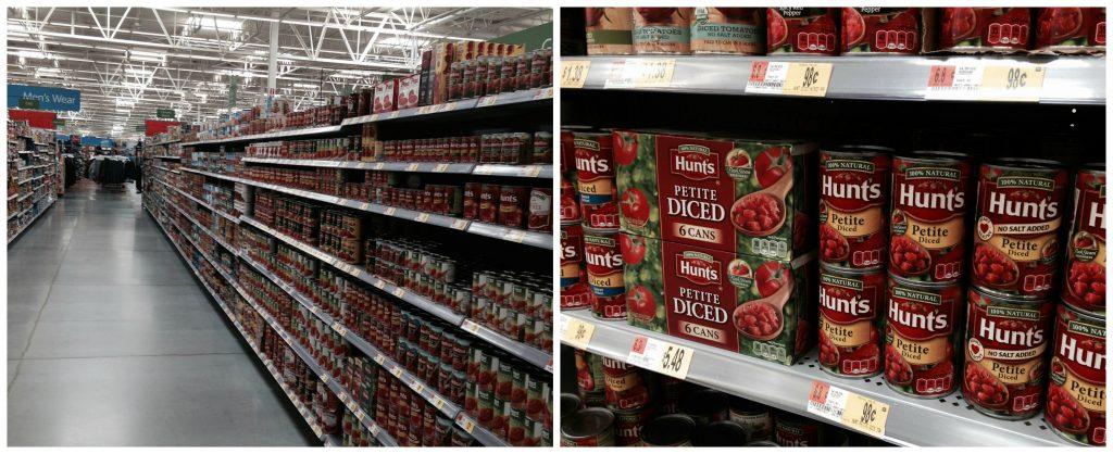 Hunt's at Walmart