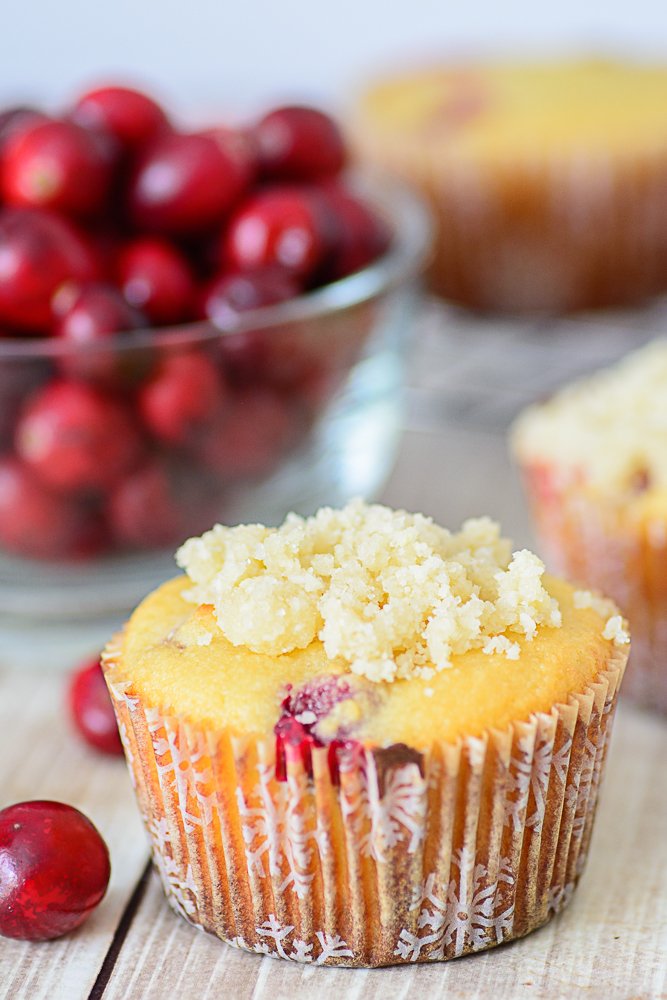 Gluten Free Orange Cranberry Muffins. Made with healthy almond flour ...