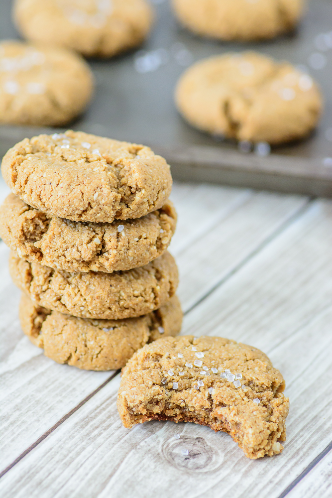 Soft and chewy gluten free ginger snap cookies infused with molasses, cinnamon, cloves and ginger. Even die hard gluten eaters love these cookies!