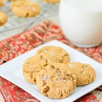 Gluten Free Ginger Snap Cookies