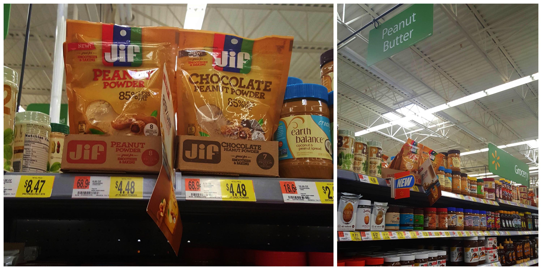 Jif Peanut Powder at Walmart
