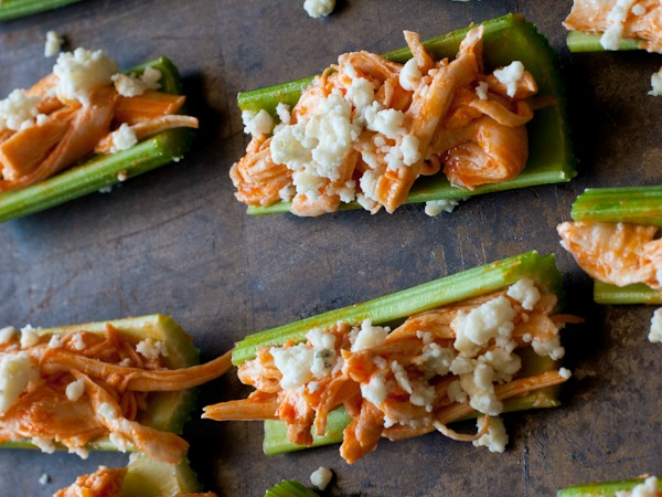 15 Drool-Worthy and Healthy Buffalo Chicken Recipes. These healthy buffalo chicken recipes are sure to be a hit at any get together or just to satisfy a buffalo chicken craving. I can't wait to try all of these!
