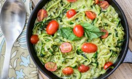 Quick & Easy Pesto Zoodles