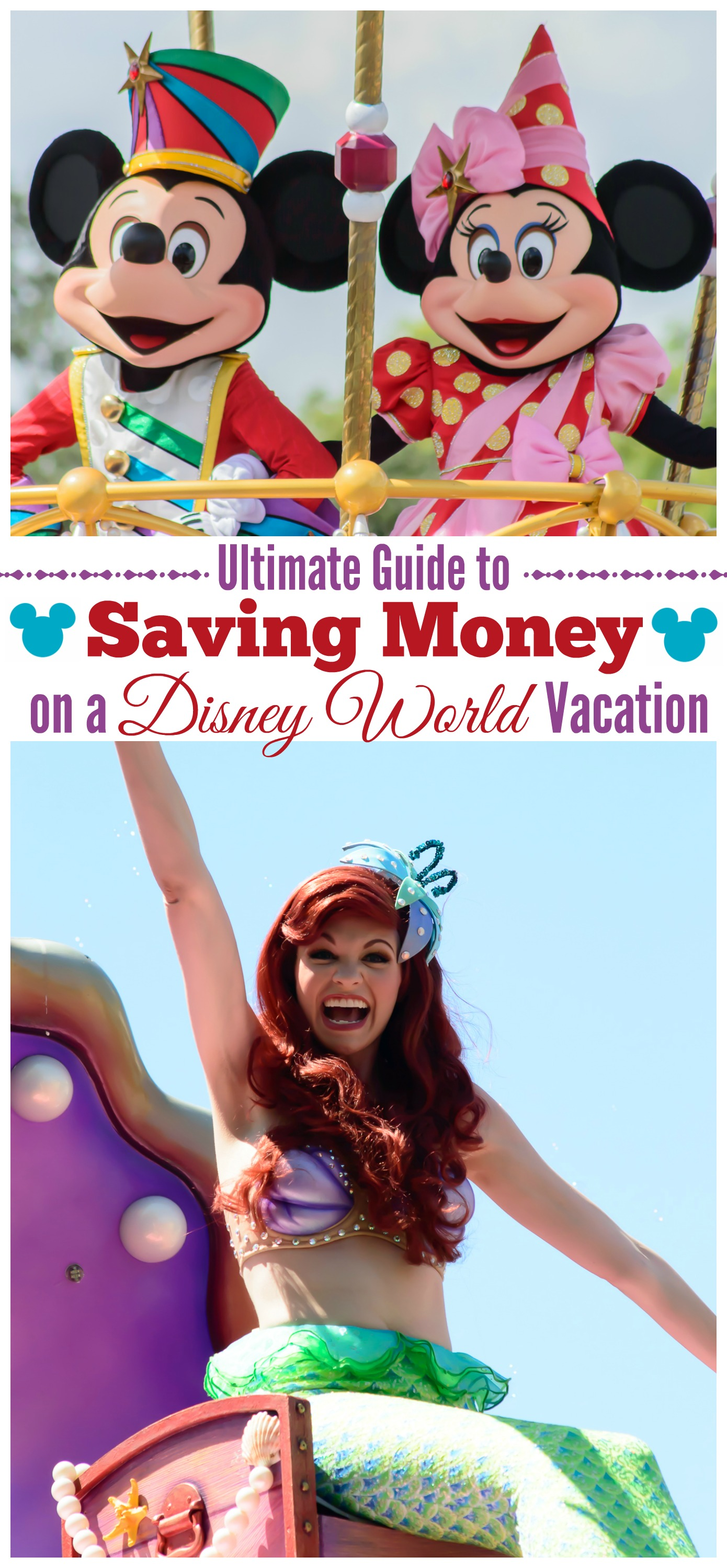 A trip to Disney world doesn't have to break the bank, in fact, it can be downright affordable if you follow these simple tips for saving money on your Disney World vacation!