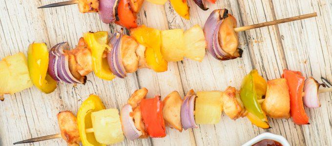 Sweet & Sour Chicken Kabobs