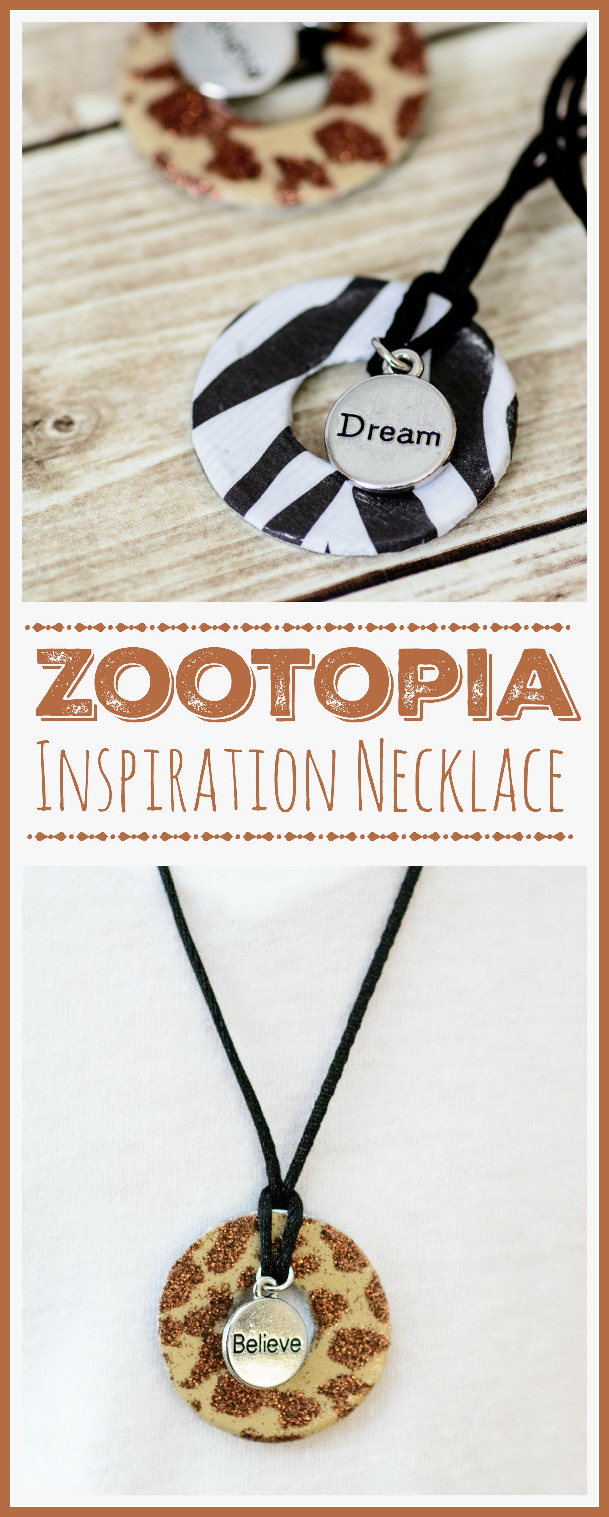 Zootopia Necklace