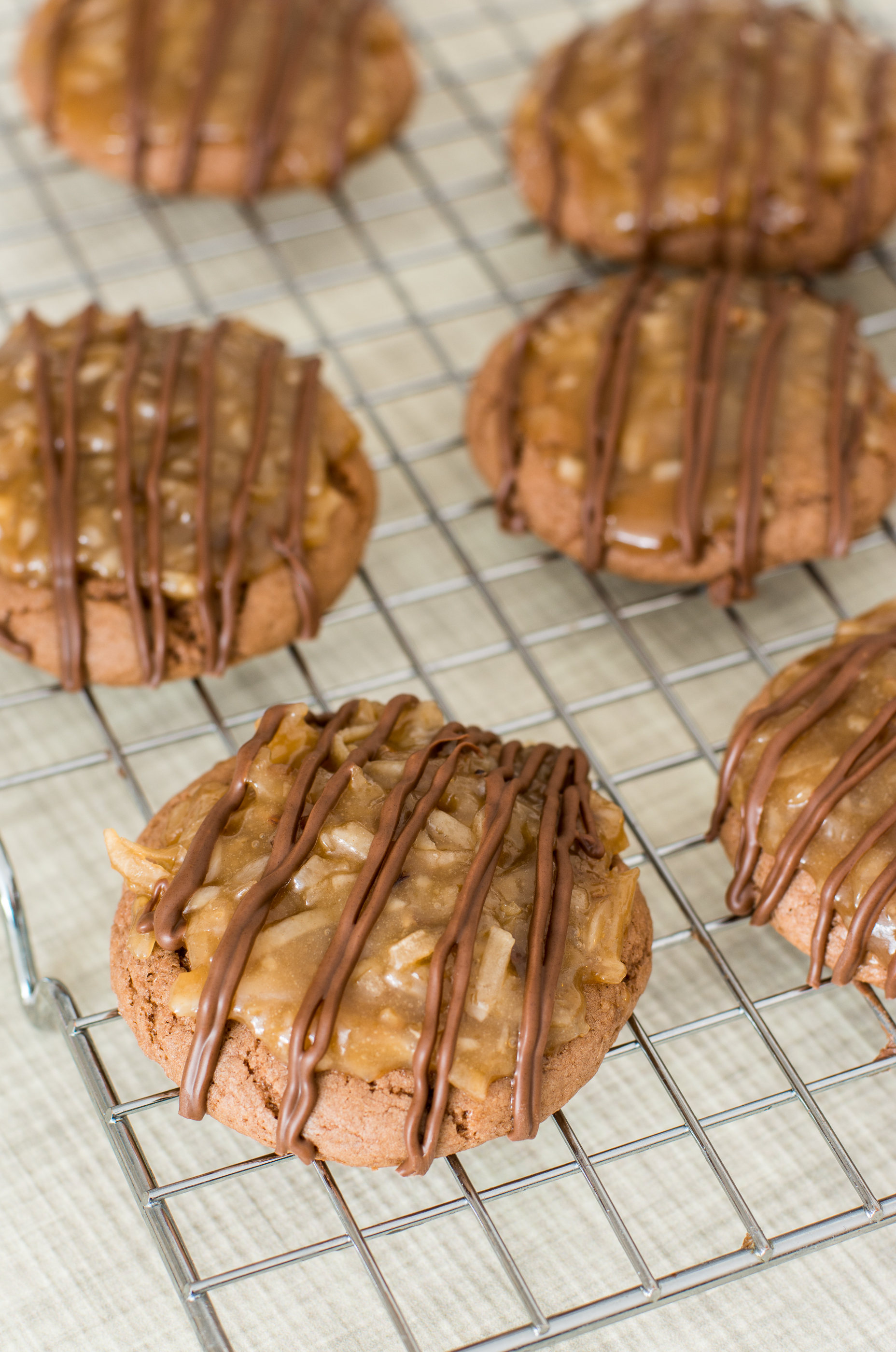 Grain Free German Chocolate Cookies with Coconut Pecan Frosting ...
