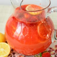Strawberry Lemonade (From Scratch!)