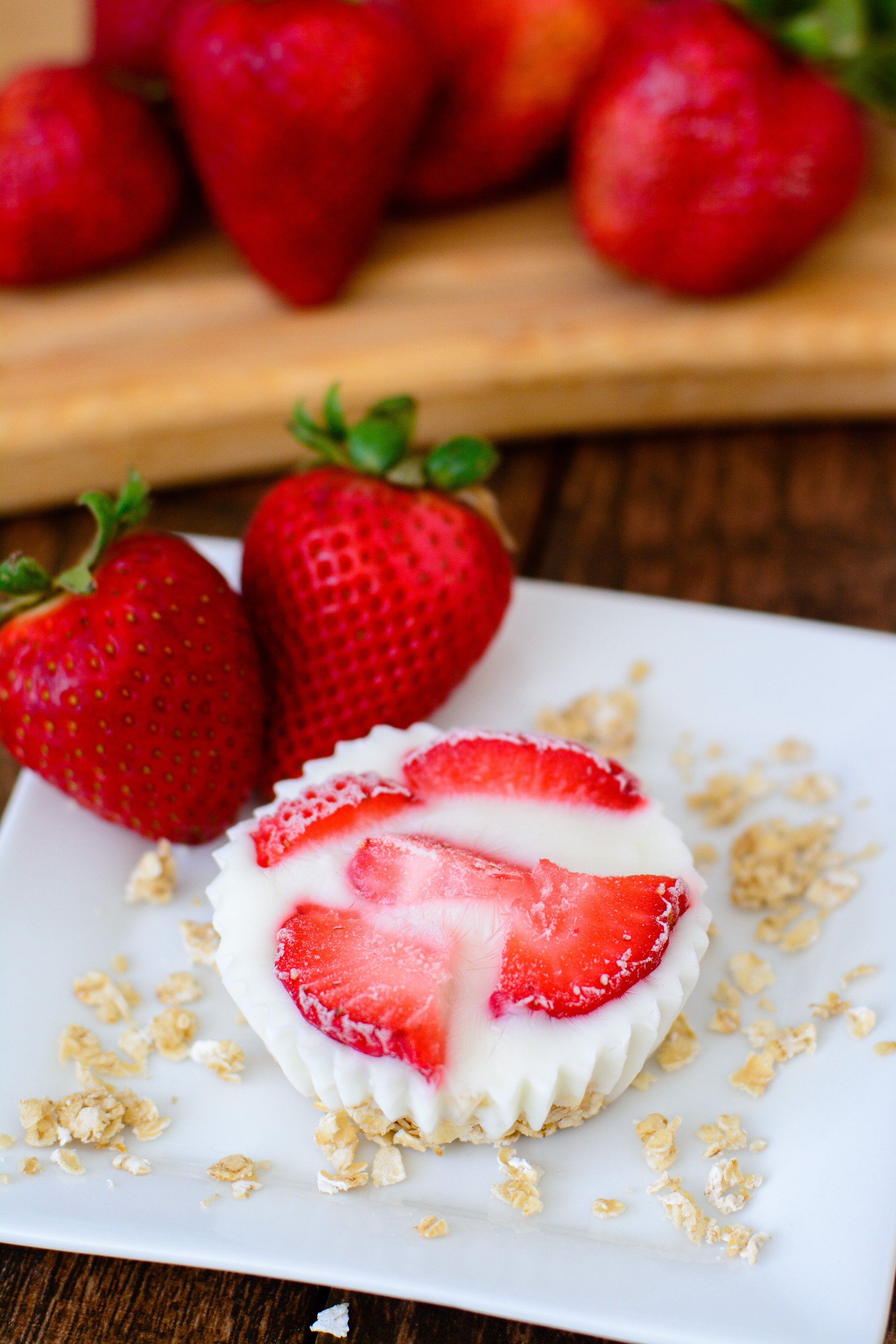 A fresh new way to enjoy yogurt! These frozen yogurt bites are great for breakfast, snack or dessert. You can even mix and match the ingredients to fit your family's tastes.