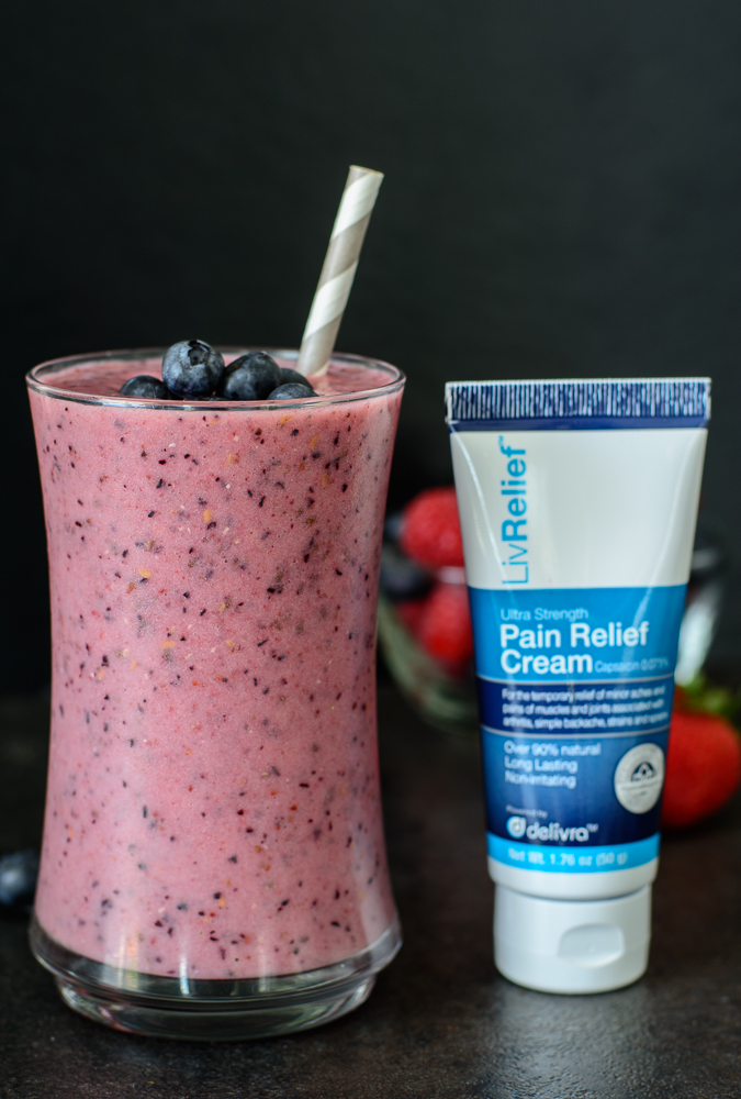 Post-Workout Berry Superfood Smoothie - Almost Supermom