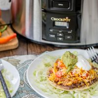 Crock-Pot® Slow Cooker Spicy Quinoa Tostadas
