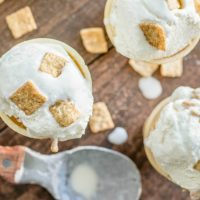 Creamy Cinnamon Toast Ice Cream