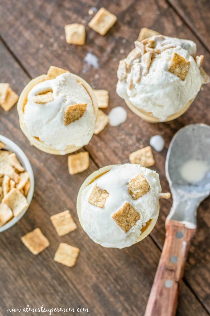 Creamy Cinnamon Toasters Ice Cream