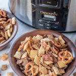 Crock-Pot® Bacon Ranch Party Mix is a great game day recipe that your whole family will love!