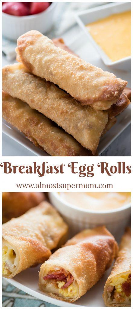 Breakfast Egg Rolls