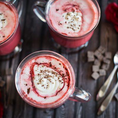 Red Velvet Latte Recipe