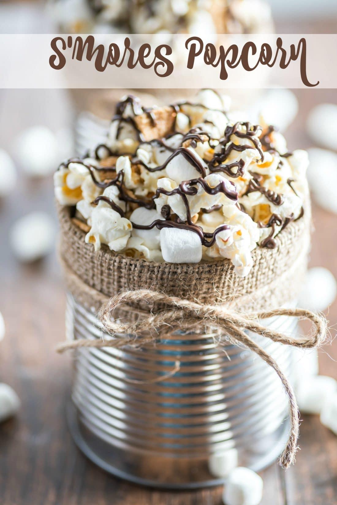 Smore's Popcorn Recipe