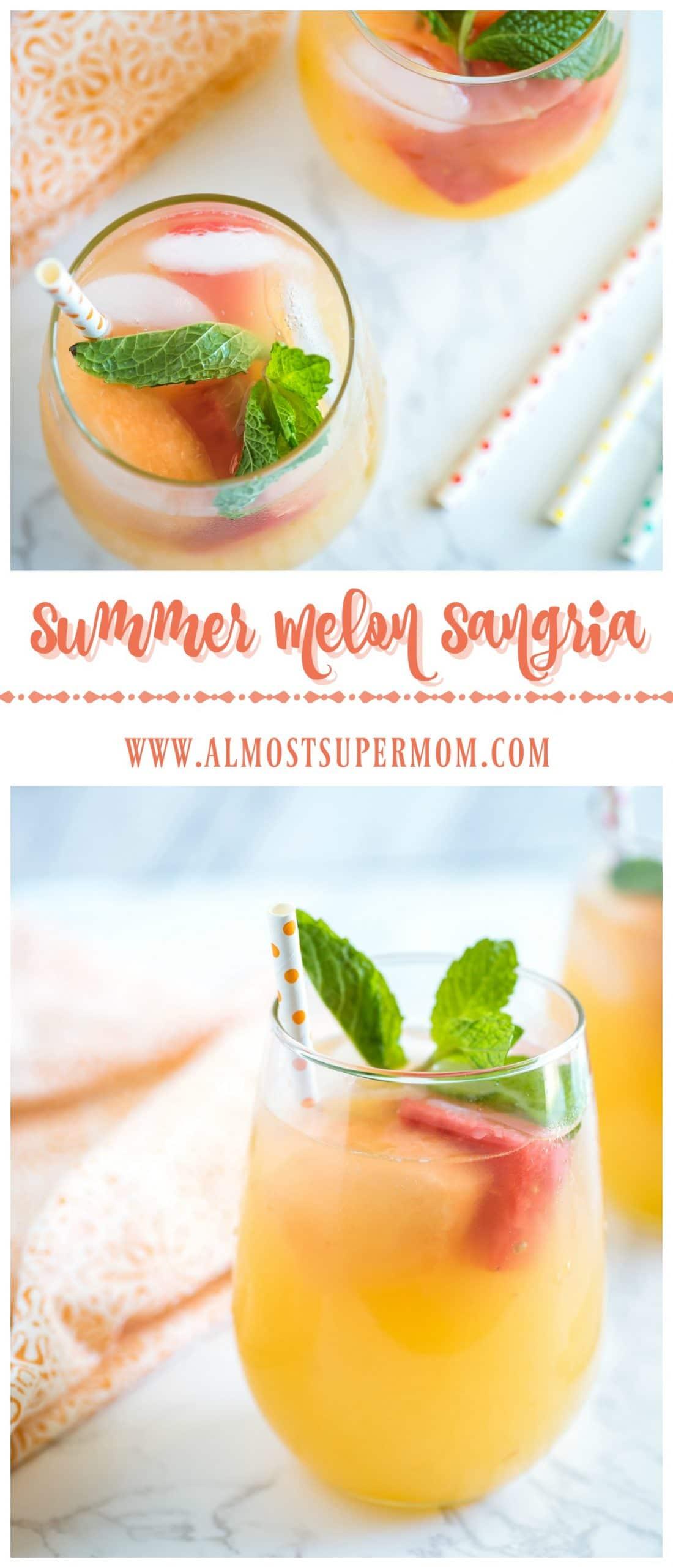 Summer Melon Sangria
