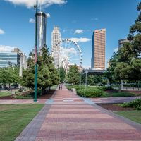 24 Hours in The Centennial Olympic Park District